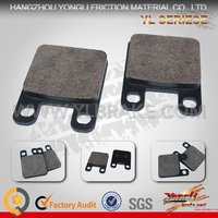 cheapest 125cc china atv brake pad with high quality