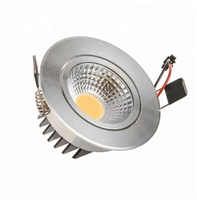 Aluminium alloy housing 5w 220v cob led ceiling downlight for sale