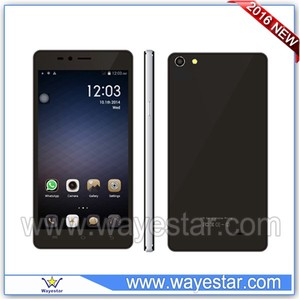 Black 5.0 inch FWVGA 854*480 two camera 3g Hong Kong cell phone price