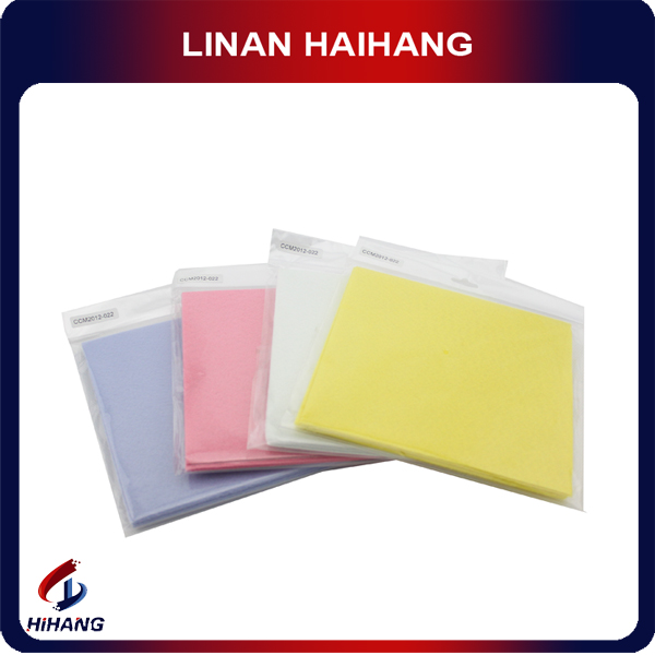 Antibacterial and Eco-friendly microfiber 100%polyester spunlace non woven cleaning cloth