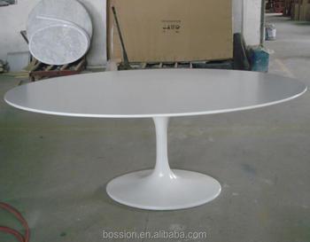 Tavoli Di Vetro Ovali : Design moderno in fibra di vetro ovale tulip tavolo da pranzo