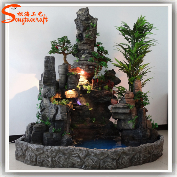 Supplying Resin Crafts Outdoor Water Fountains Courtyard