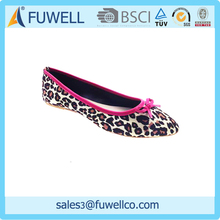 WOMAN LEOPARD POINTED BALLET FLATS