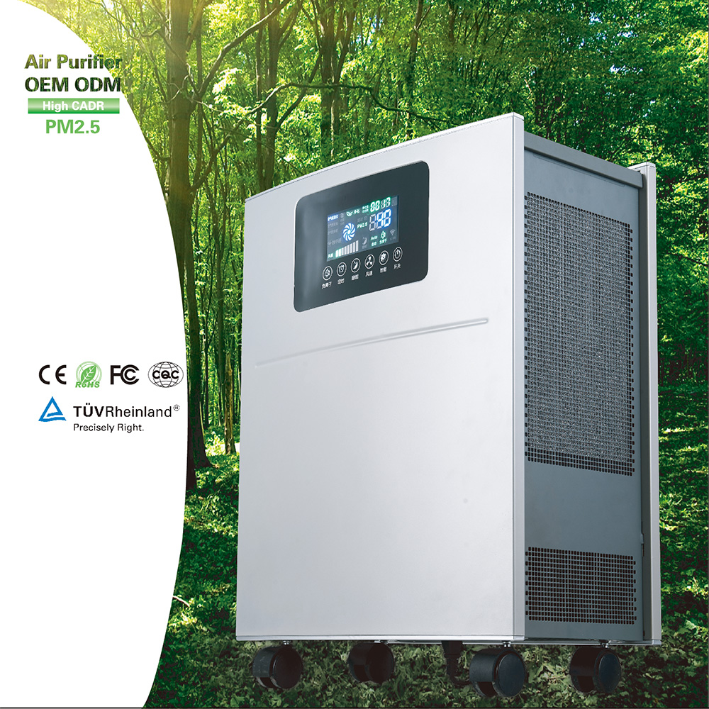 2017 hepa eps commercial <strong>air</strong> purifier ionizer for showing <strong>air</strong> quality