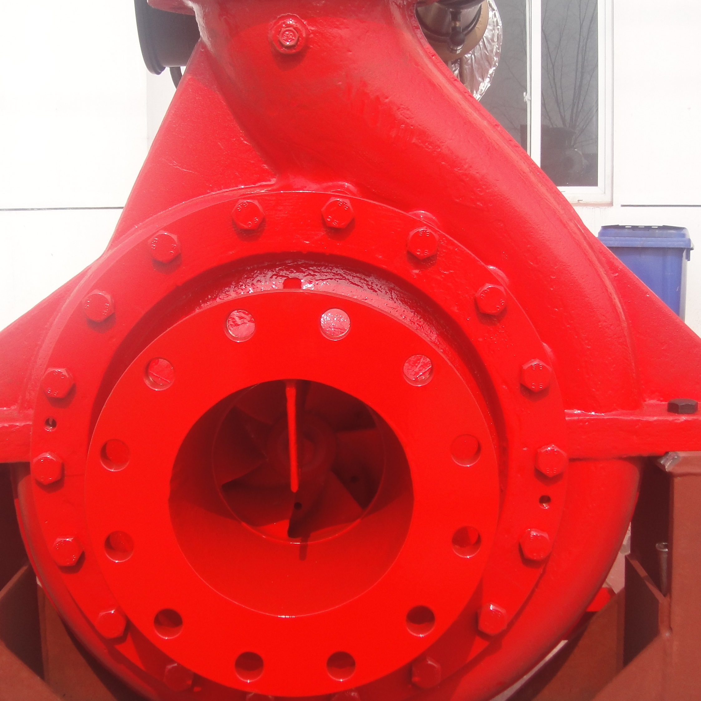 CCS Approved Marine Diesel Engine Fire Fighting Pump