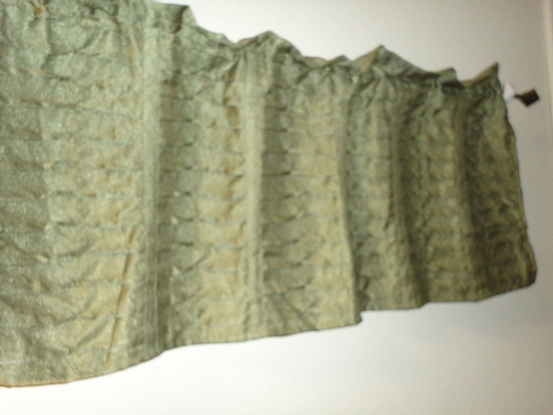 Buy Croscill Home Spruce Green Tweed Tailored Window
