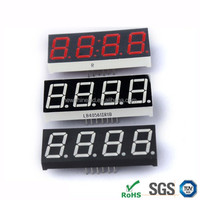 Top quality 0.36 Inch Red led 7 segment display 4 digits Led digital display for supermarket 7 segment digital price display