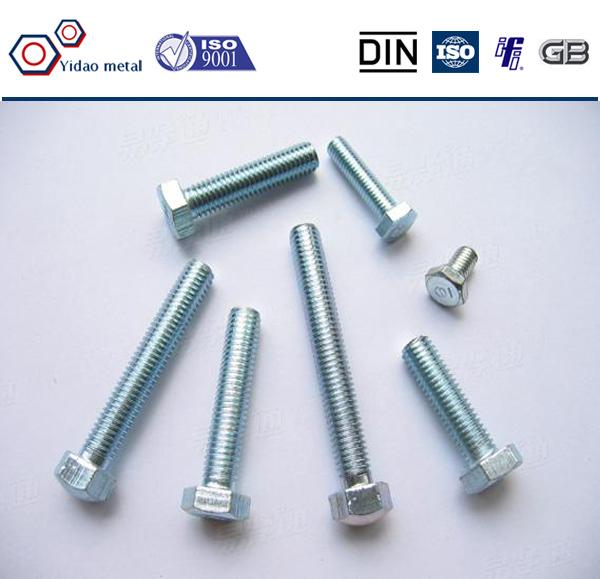 Zinc plating grade 8 4140 steel