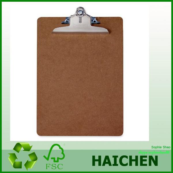 Mdf A4/fc Clipboard Folder,Wooden Clipboard