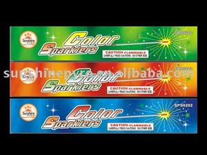 color sparkler fireworks for kids and party show