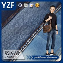 YZF Hot sale cotton spandex denim and cotton denim for denim shirt