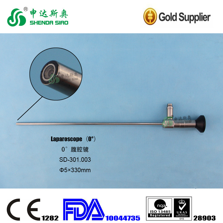 laparoscopic surgical instrument optical laparoscope 10mm 30 degrees