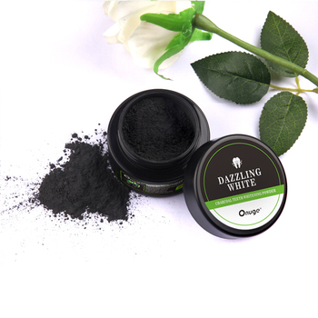 natural organic activated charcoal teeth bleaching powder whitening powder