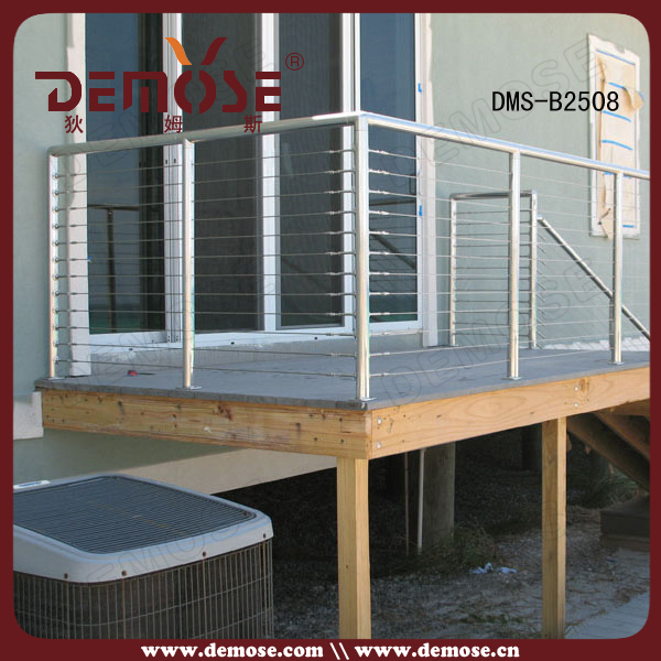 Safy Deck Stainless Steel Cable Railing Hardware Designs