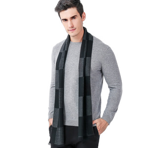 Pashmina Winter Thick Woven Scarf For Men Spring Winter 2018