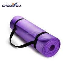 Antideslizante ejercicio fitness deportes <span class=keywords><strong>NBR</strong></span> 10mm <span class=keywords><strong>yoga</strong></span> mat