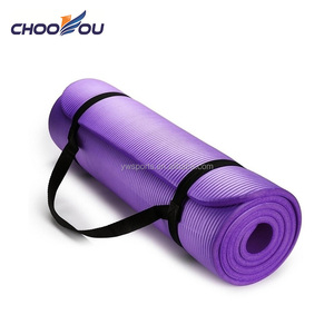Non-Slip Fitness Exercise Sports NBR 10mm Yoga Mat