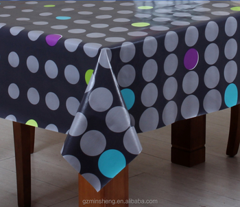 Whole Plastic Printed Tablecloths Folding Tables