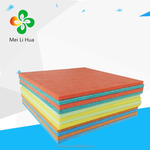 types of ceiling polyester fiber acoustic board