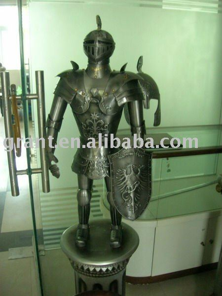 Art&Collectrible/Souvenirs/Nautical/Samurai/Antique/Medieval/Decotation/Sword/Movie/Metal craft Armour J50XW