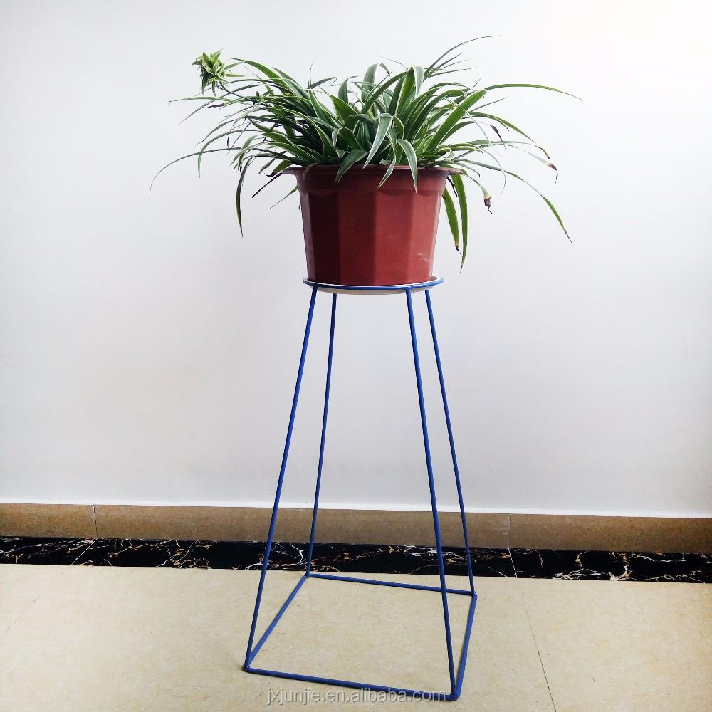 Custom Made Hanging Flower Baskets Black Wholesale Wire Planter ...
