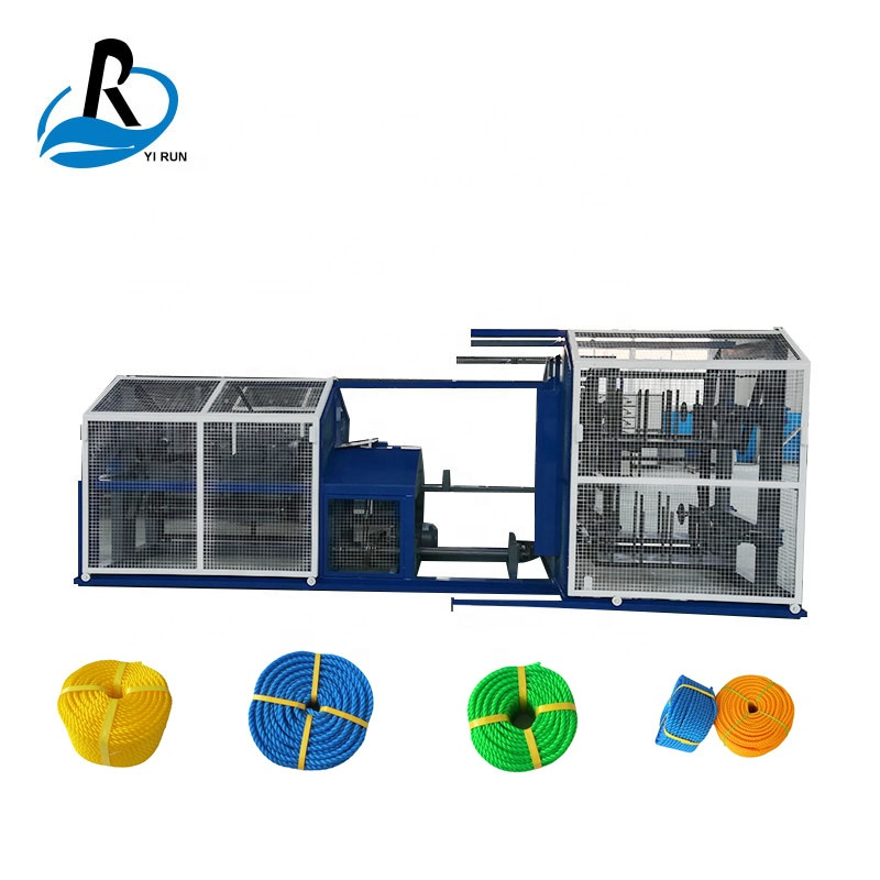 Factory supply cheap price pe pet nylon pp automatic plastic rope making machine