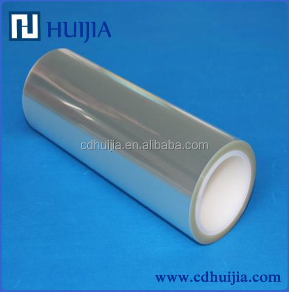transparent mirror like film/pet clear film
