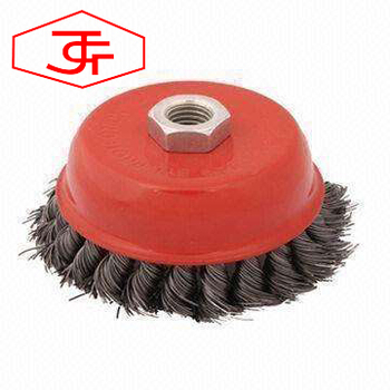 Steel Wire Brush Wheel for Cleaning Polishing tools