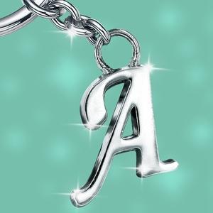 Stylish Letter Metal Keychain, Stylish Letter Metal Keychain