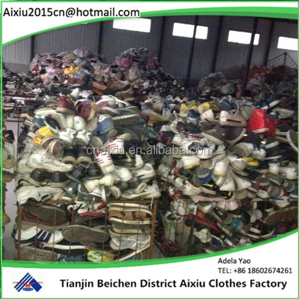 used in China men sport shoes Used Shoes