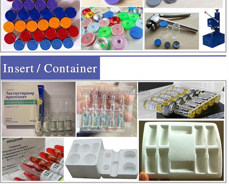 Empty flip top pharmacy 10ml vial sterile hplc injection vials 10ml tubular glass vials for steroids