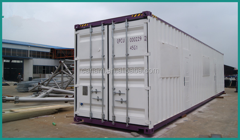 Container solar prefab house for office