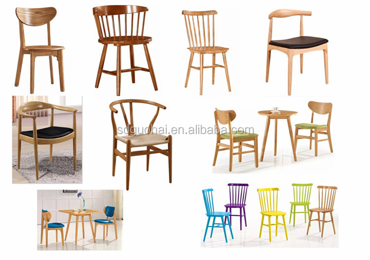 Wooden dining chair with design buy room