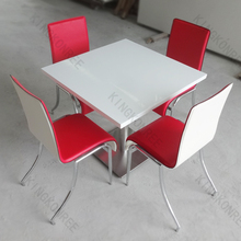 Modern Artificial Stone Pub white dinning table