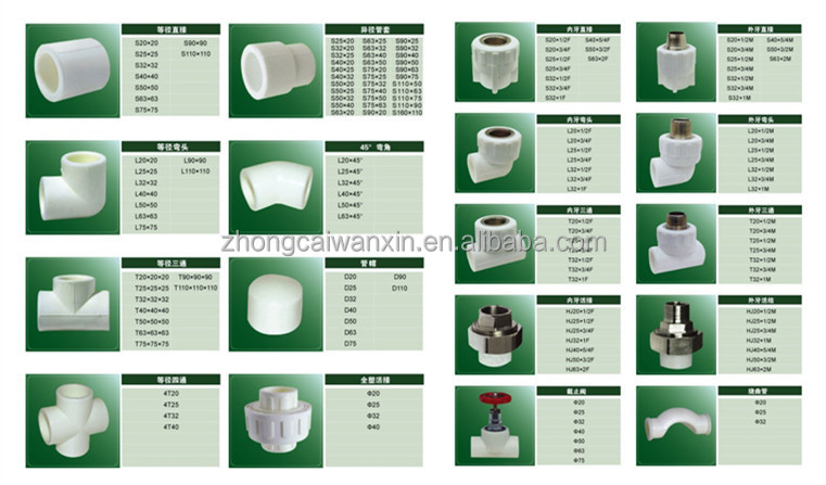 Reliable ppr pipe and fitting manufacturer in china buy