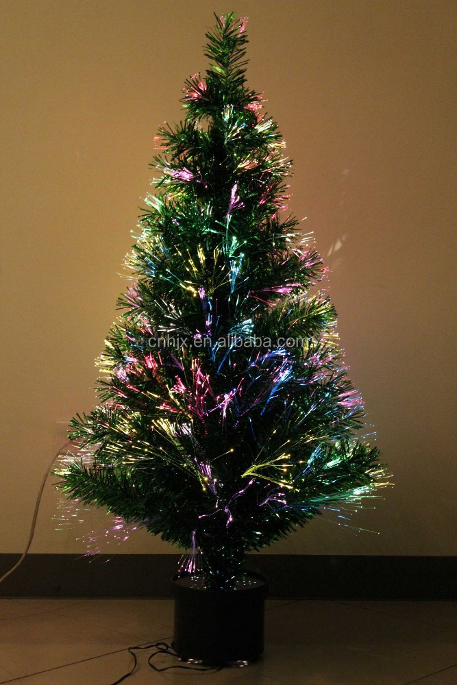 Standard Christmas Trees Ornaments, Several LED Lights Coloured Lights Christmas Trees