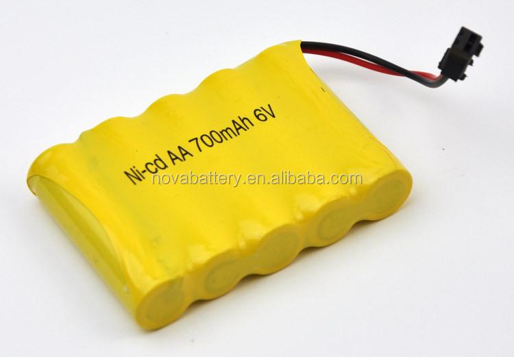 6v Ni Cd Aa 700mah Battery 6 Volt Battery Pack Buy Ni Cd