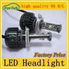 led car headlight H4 40w led auto headlight portable led headlight high quality factory price