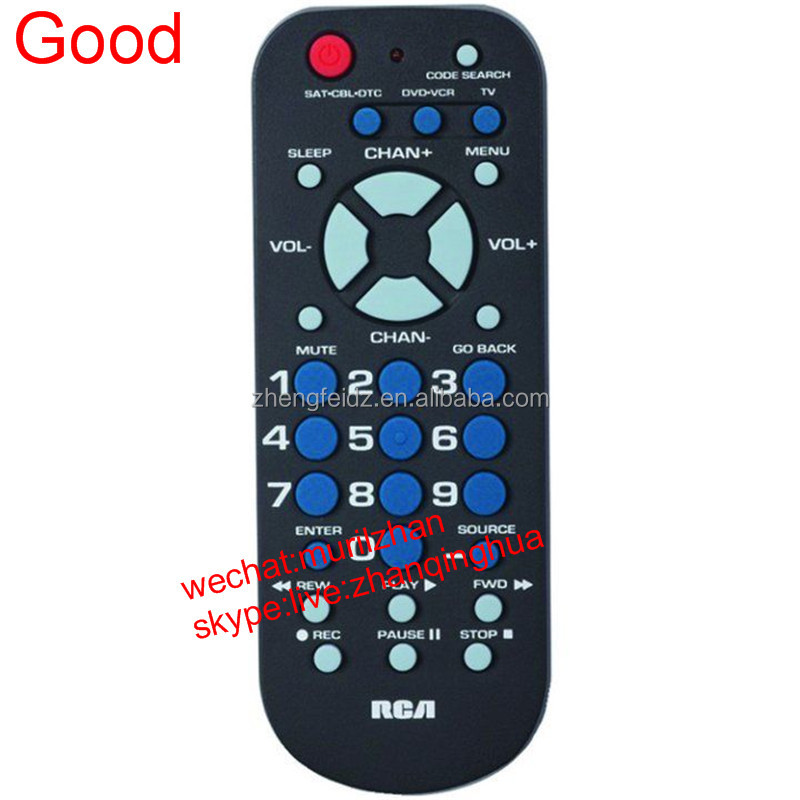 High Quality Black Mini 31 Buttons UNIVERSAL Remote Control RCA 3 Device RCR503BR BRAND NEW