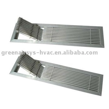Floor Grille (HVAC,Air Grille ,Air Diffuser,Air Register,Double Deflection
