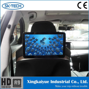 11.6 inch headrest monitor android 6.0 car monitor Bluetooth AV input 1366*768 replacement lcd tv screen for E class