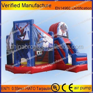 Inflatable bouncer/bouncy house/inflatable castle for kids