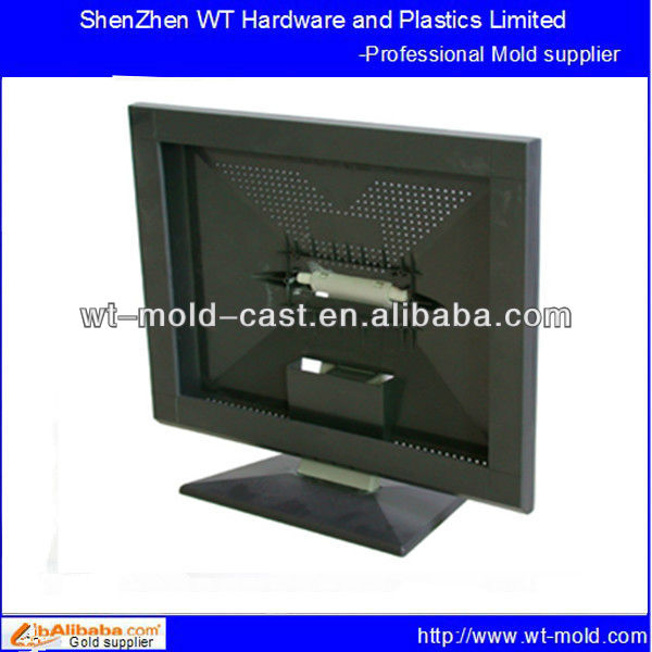 export customized computer display housing injection mould
