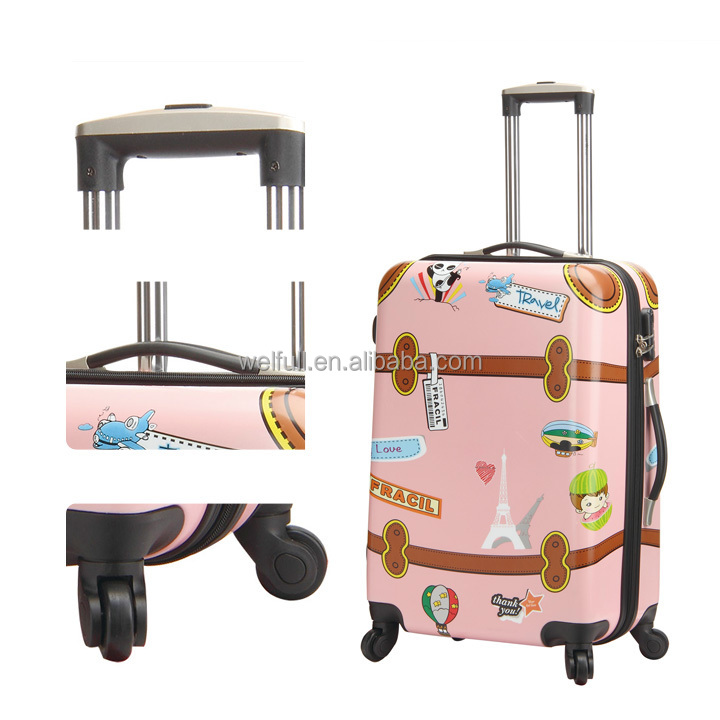 Pretty Wheeled Carry On Luggage For Teenagers - Buy Luggage For ...