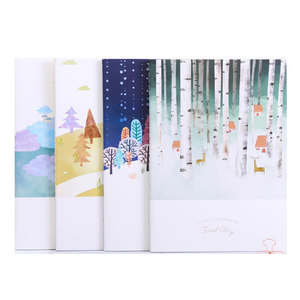 A5 60 pages fashion soft surface student girl diary notebook color pages body printing blank single line floral free notebook