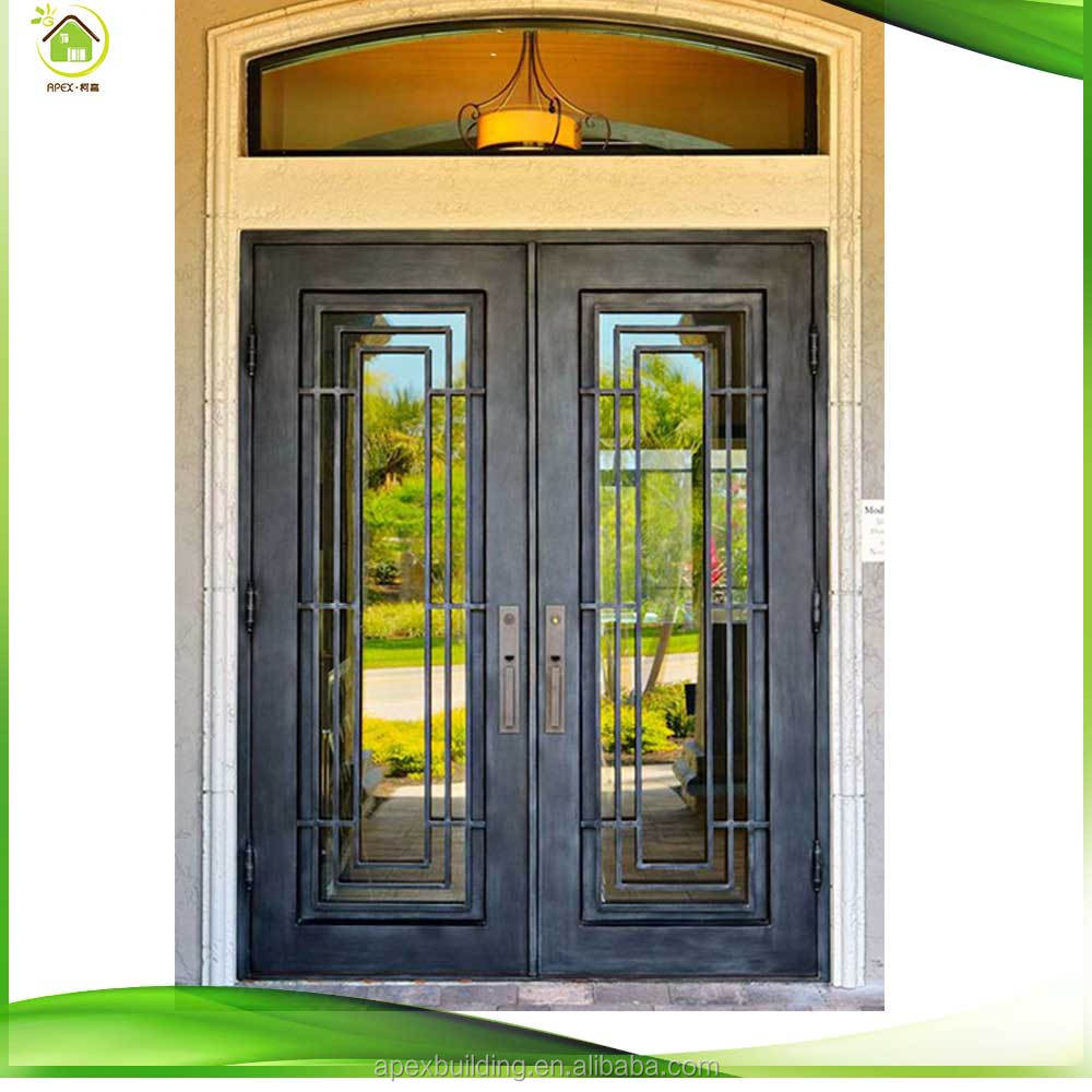 Custom wrought iron double doors iron entry doors iron gates custom wrought iron double doors iron entry doors iron gates for doors rubansaba