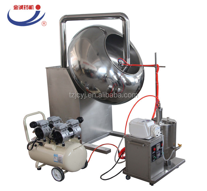 304 stainless steel factory price tablet pill sugar coating machine