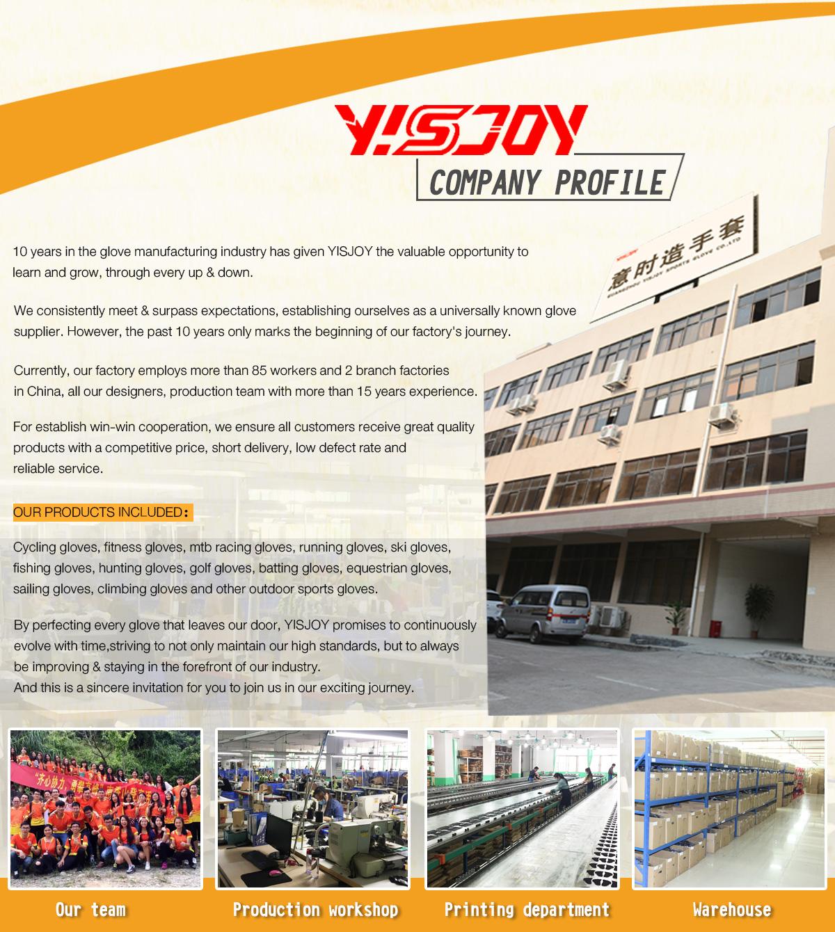 Guangzhou Yisjoy Sports Glove Co Ltd Cycling Gloves Gym Sepatu Sneakers Pria Bbr378 Trixie Chan