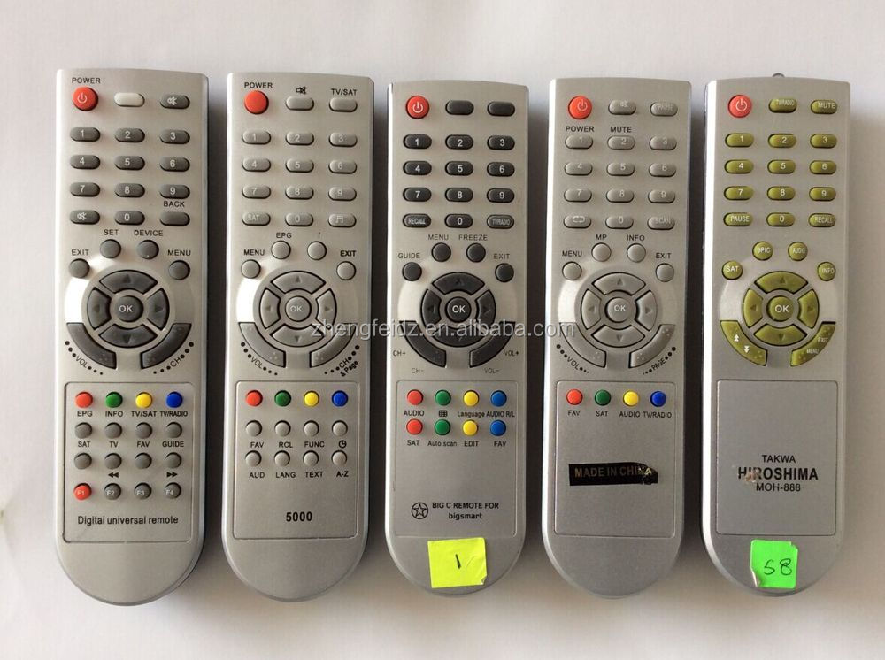 Silver Paint Ace Tcl-dvb Universal Remote Control Wholesale Lcd Tv Without  Setting Directly - Buy Universal Remote Chunghop Tv,Chunghop Universal