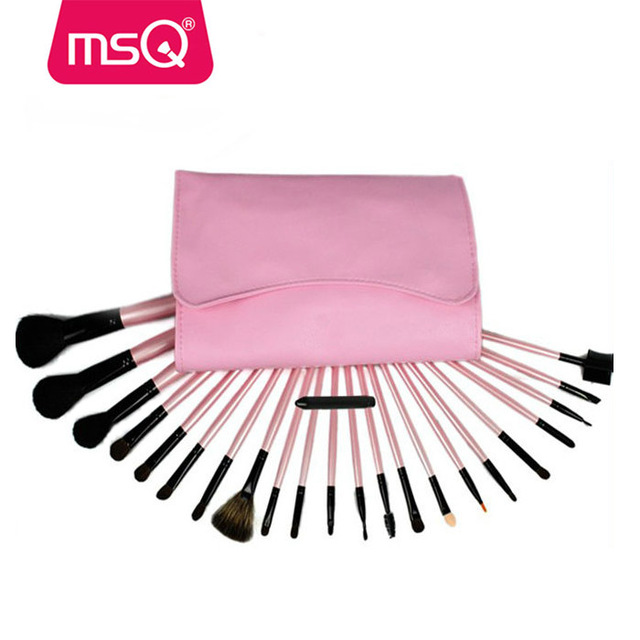 MSQ 23pcs professional make-up brush set top quality make-up brush set private label cosmetics brush